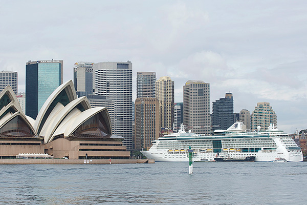 No end to Australia's cruise boom