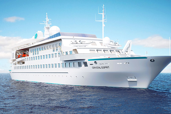 Crystal Cruises to order three new ships, launch yacht and river cruises